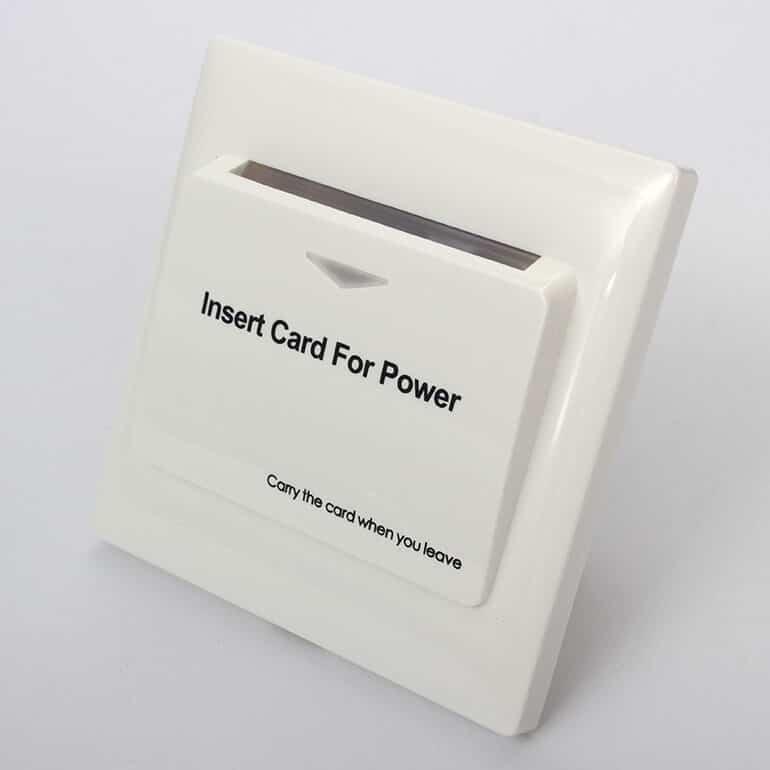 Energy Saver Key Card Power Switch for Hotel Room SL ES001 1 - Energy Saver Key Card Power Switch for Hotel Room SL-ES001