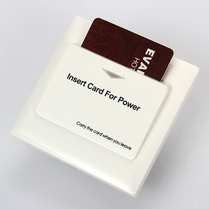 Energy Saver Key Card Power Switch for Hotel Room SL ES001 4 - Energy Saver Key Card Power Switch for Hotel Room SL-ES001