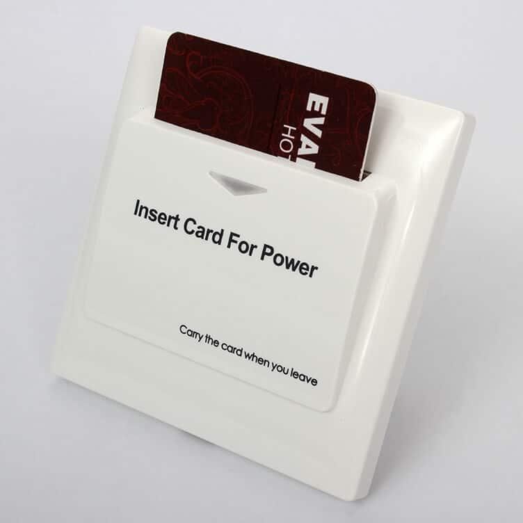 Energy Saver Key Card Power Switch for Hotel Room SL ES001 5 - Energy Saver Key Card Power Switch for Hotel Room SL-ES001