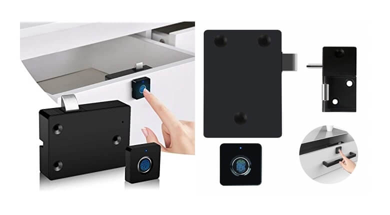 Fingerprint cabinet lock - Smart Cabinet Locks