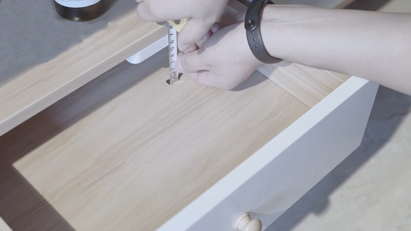 How to install cabinet locks on a drawer 4 - Smart Cabinet Locks