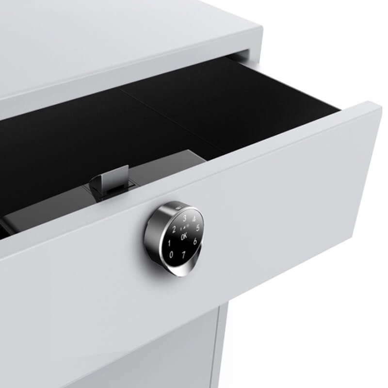 Smart Electronic Biometric Fingerprint Bluetooth Drawer Lock SL FBC117 2 - Smart Biometric Fingerprint Bluetooth Drawer Lock SL-FBC117