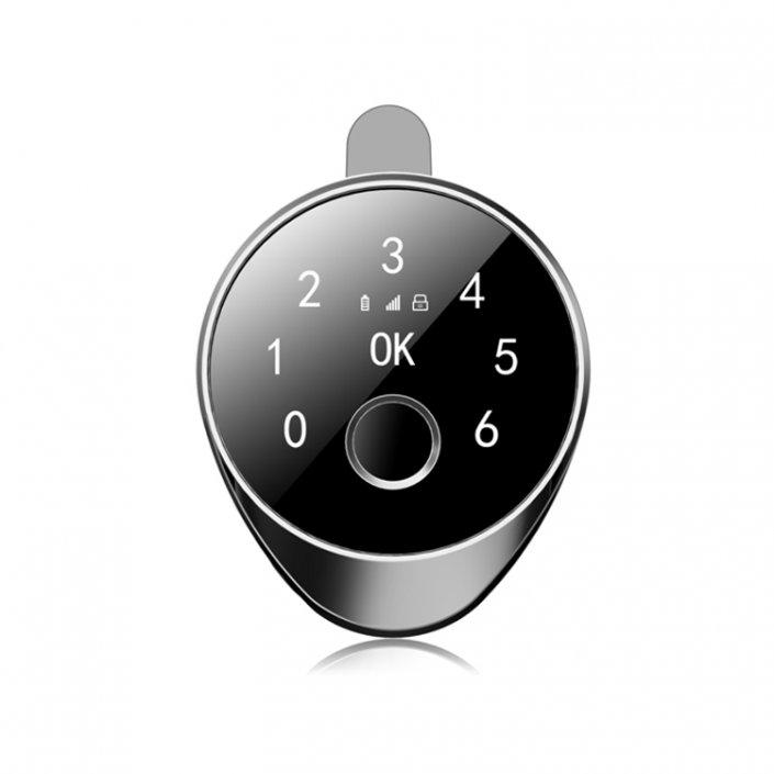 Smart Electronic Biometric Fingerprint Bluetooth Drawer Lock SL FBC117 6 705x705 - Keyless Digital Key Glass Showcase Cabinet Door Locks SL-C115